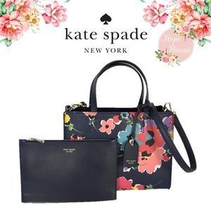 NWT Kate Spade Sam Wildflower Bouquet Medium
